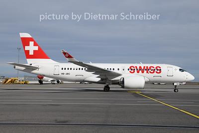 2020-02-12 HB-JBC Airbus A220-100 Swiss