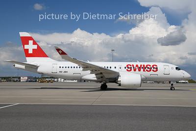 2020-08-19 HB-JBH Airbus A220-100 Swiss