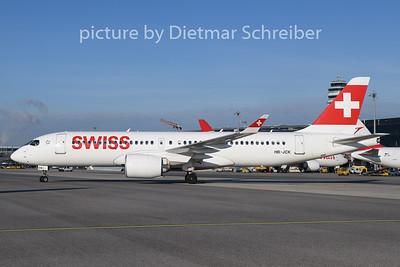 2019-12-30 HB-JCK Airbus A220-300 Swiss