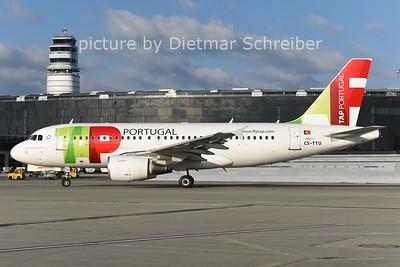 2014-12-09 CS-TTU AIrbus A319 TAP
