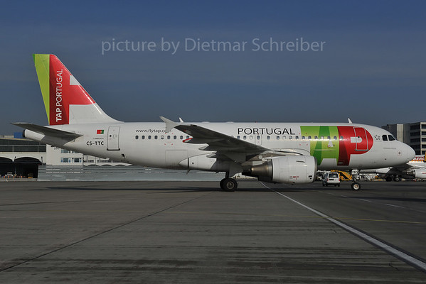 2012-02-02 CS-TTC Airbus A319 TAP