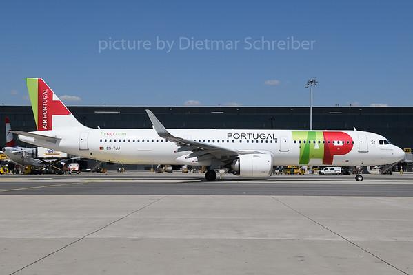 2019-07-25 CS-TJJ Airbus A321neo TAP