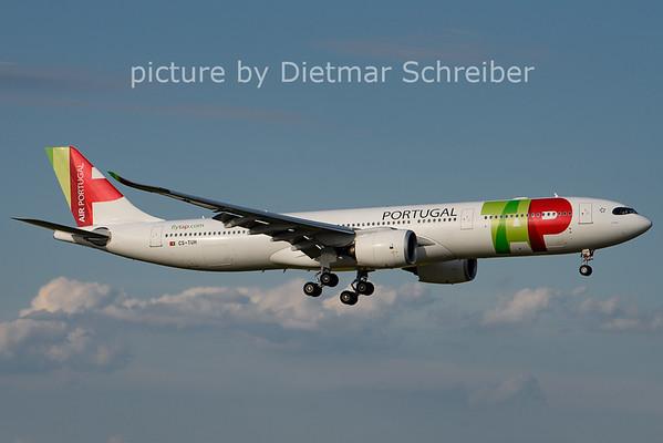 2021-06-27 CS-TUH Airbus A330-900 TAP