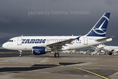 2017-03-02 YR-ASB Airbus A318 Tarom