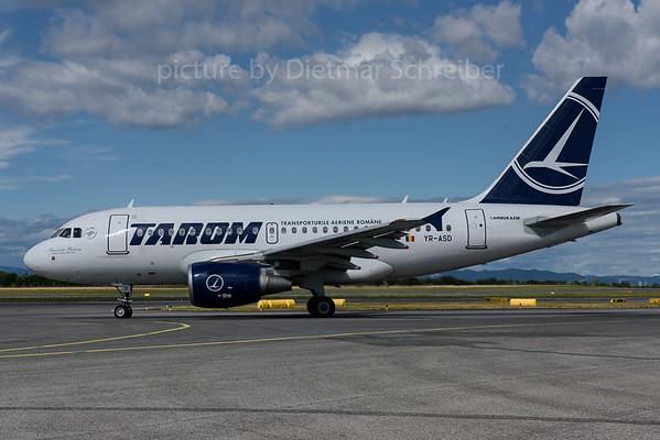 2017-06-30 YR-ASD Airbus A318 Tarom