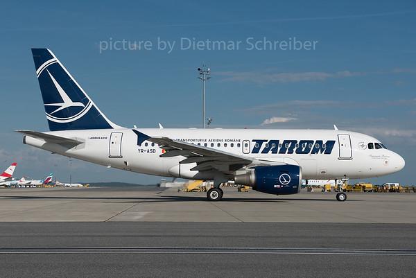 2016-06-10 YR-ASD Airbus A318 Tarom