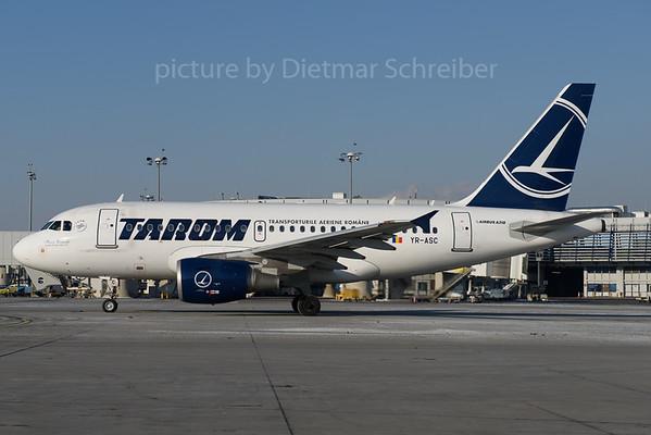 2017-01-11 YR-ASC Airbus A318 Tarom