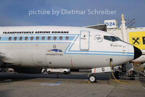 2019-02-21 YR-BGG Boeing 737-700 Tarom