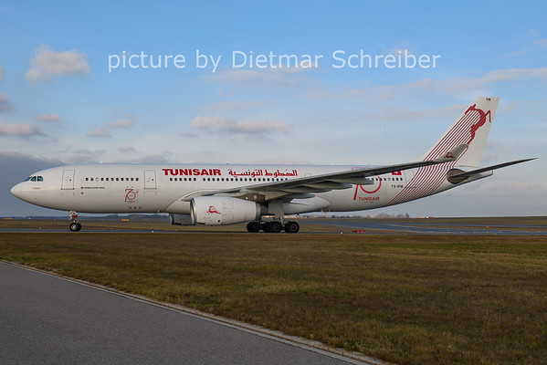 2020-12-14 TS-IFM Airbus A330-200 Tunis Air