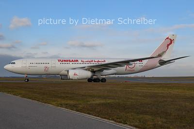 2020-12-14 TS-IFM Airbus A330-200 Tunis Air