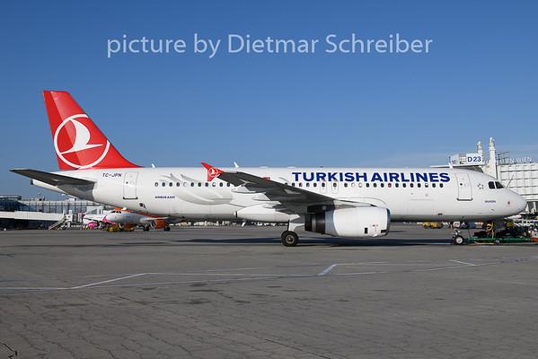 2020-01-01 TC-JPN Airbus A320 THY