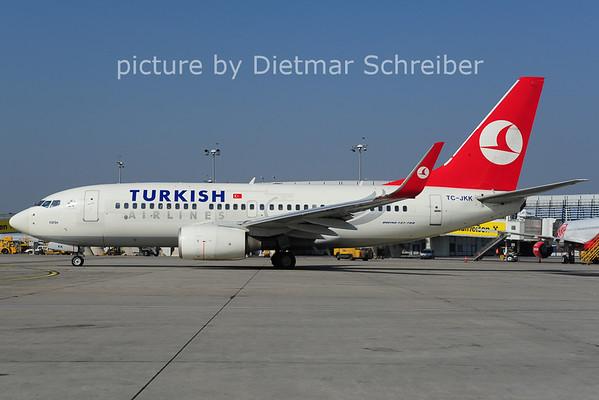 2014-03-12 TC-JKK Boeing 737-700 Turkish Airlines