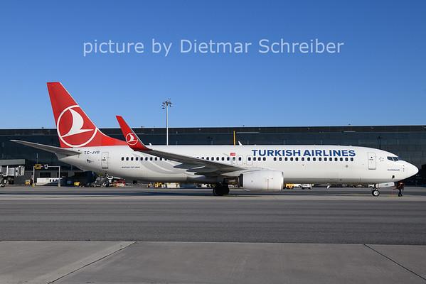 2020-12-27 TC-JVB Boeing 737-800 THY