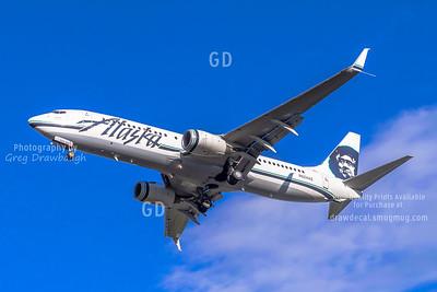 Scimitar Equipped Alaska 737-800