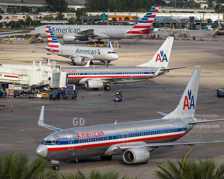 American Airlines Miami Hub
