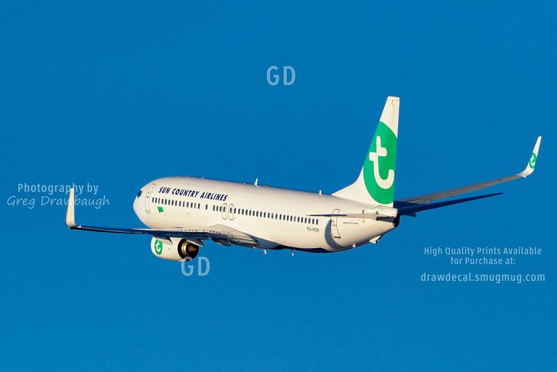 Sun Country 737-800 leased Transavia