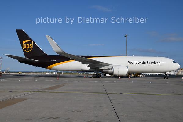 2021-07-27 N395UP Boeing 767-300 UPS