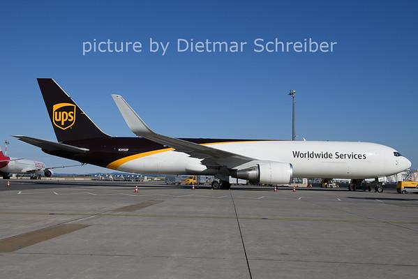 2021-07-07 N395UP Boeing 767-300 UPS