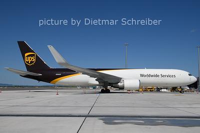 2021-07-29 N393UP Boeing 767-300 UPS