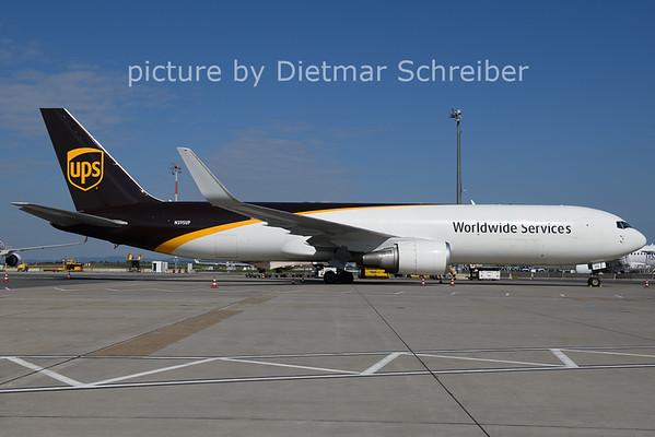 2021-05-31 N395UP Boeing 767-300 UPS