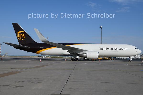 2021-07-28 N395UP Boeing 767-300 UPS