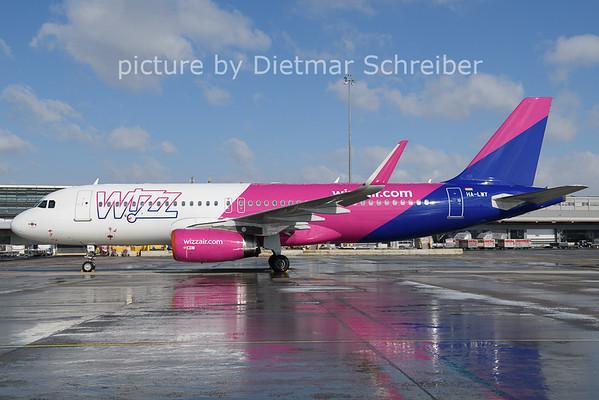 2021-02-11 HA-LWY Airbus A320 Wizzair
