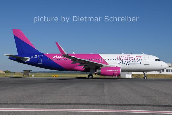 2021-06-13 HA-LWX AIrbus A320 Wizzair