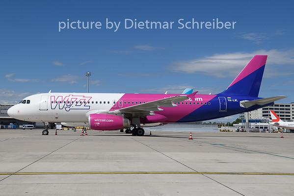 2020-06-30 HA-LWL Airbus A320 Wizzair