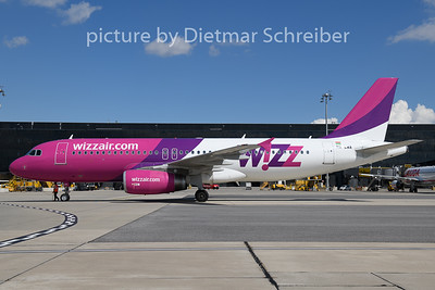2020-09-03 HA-LWA Airbus A320 Wizzair