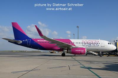 2021-10-09 HA-LYC Airbus A320 Wizzair