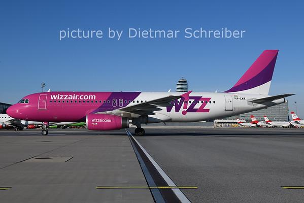 2020-12-27 HA-LWA Airbus A320 Wizzair