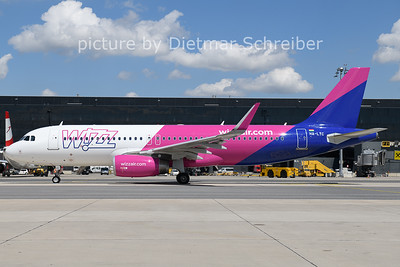 2021-08-03 HA-LYC Airbus A320 Wizzair