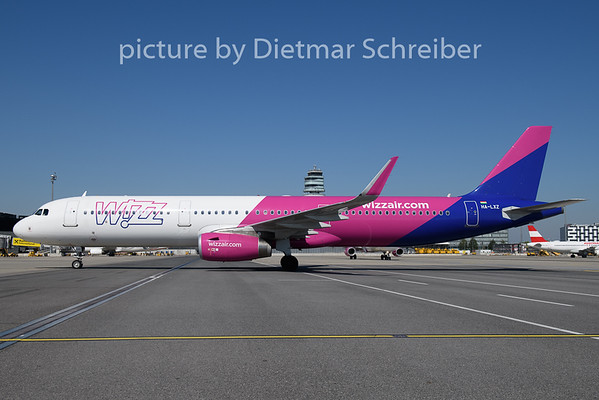 2020-08-22 HA-LXZ Airbus A321 Wizzair