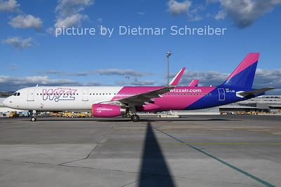 2021-02-04 HA-LXB Airbus A321 Wizzair