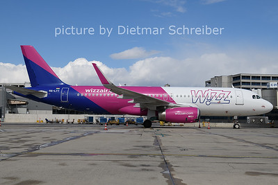 2021-04-07 HA-LYT Airbus A320 Wizzair