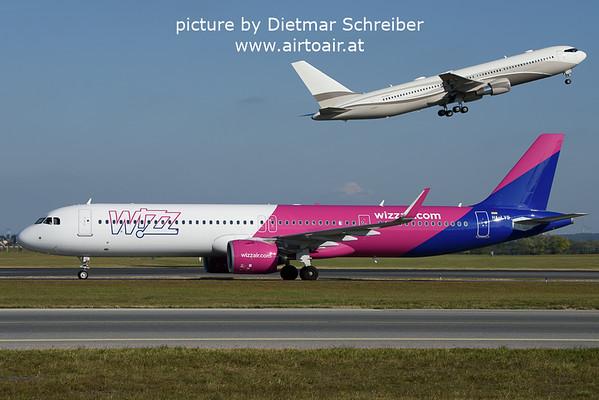 2021-10-17 HA-LVQ Airbus A321neo Wizzair