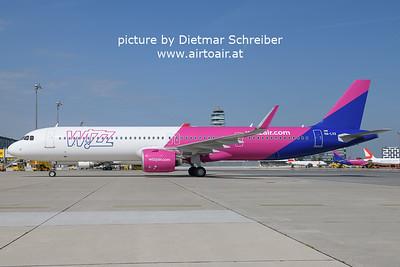 2021-08-20 HA-LVX Airbus A321neo Wizzair