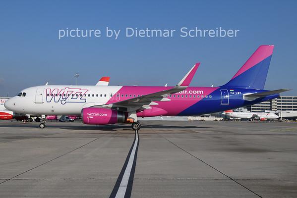 2021-01-08 HA-LWY Airbus A320 Wizzair