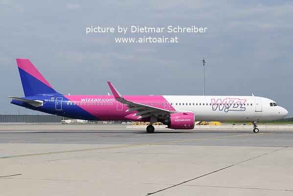 2021-05-22 HA-LVD AIrbus A321neo Wizzair