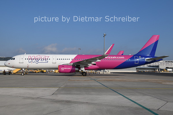 2021-01-08 HA-LXB Airbus A321 Wizzair
