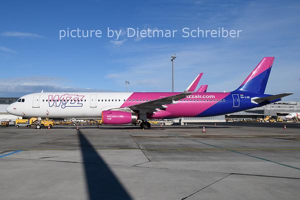 2021-01-22 HA-LXB Airbus A321 Wizzair