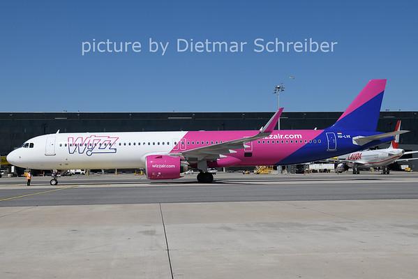 2021-08-10 HA-LVK AIrbus A321neo Wizzair
