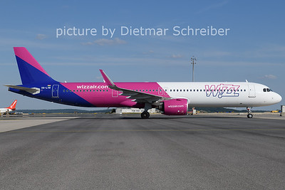 2021-07-16 HA-LVB Airbus A321neo Wizzair