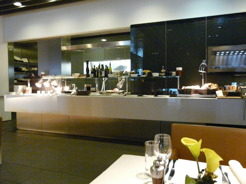 restaurant in First Class Terminal and lounge