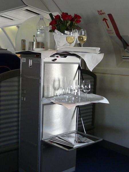 105 first class cabin upper deck