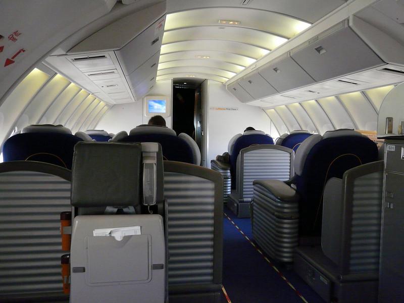 104 first class cabin upper deck