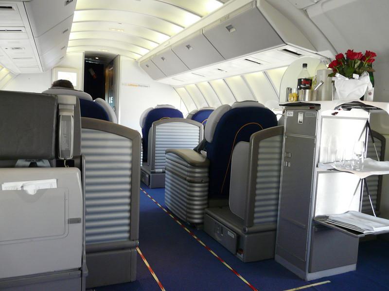 110 first class cabin upper deck