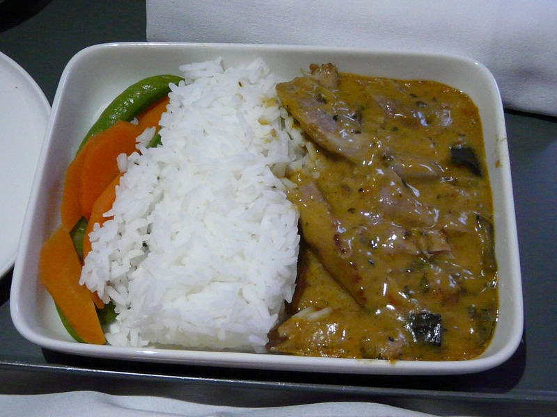 20100524 PER-SYD noon departure liunch beef curry