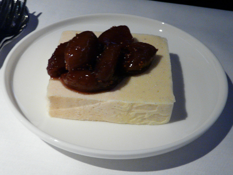 May, 2009, SYD-SFO, ice cream with fig compote