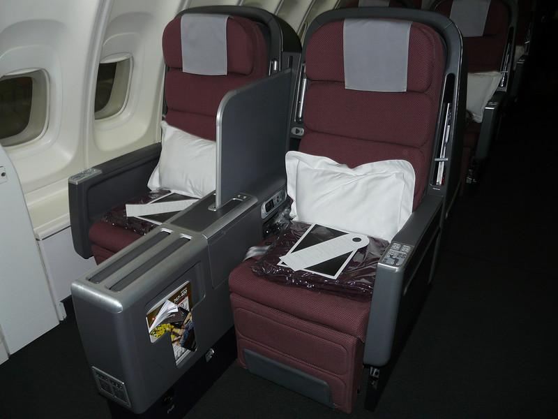 May, 2013, LAX-Sydney, emergency exit row 14 on 747 upper deck